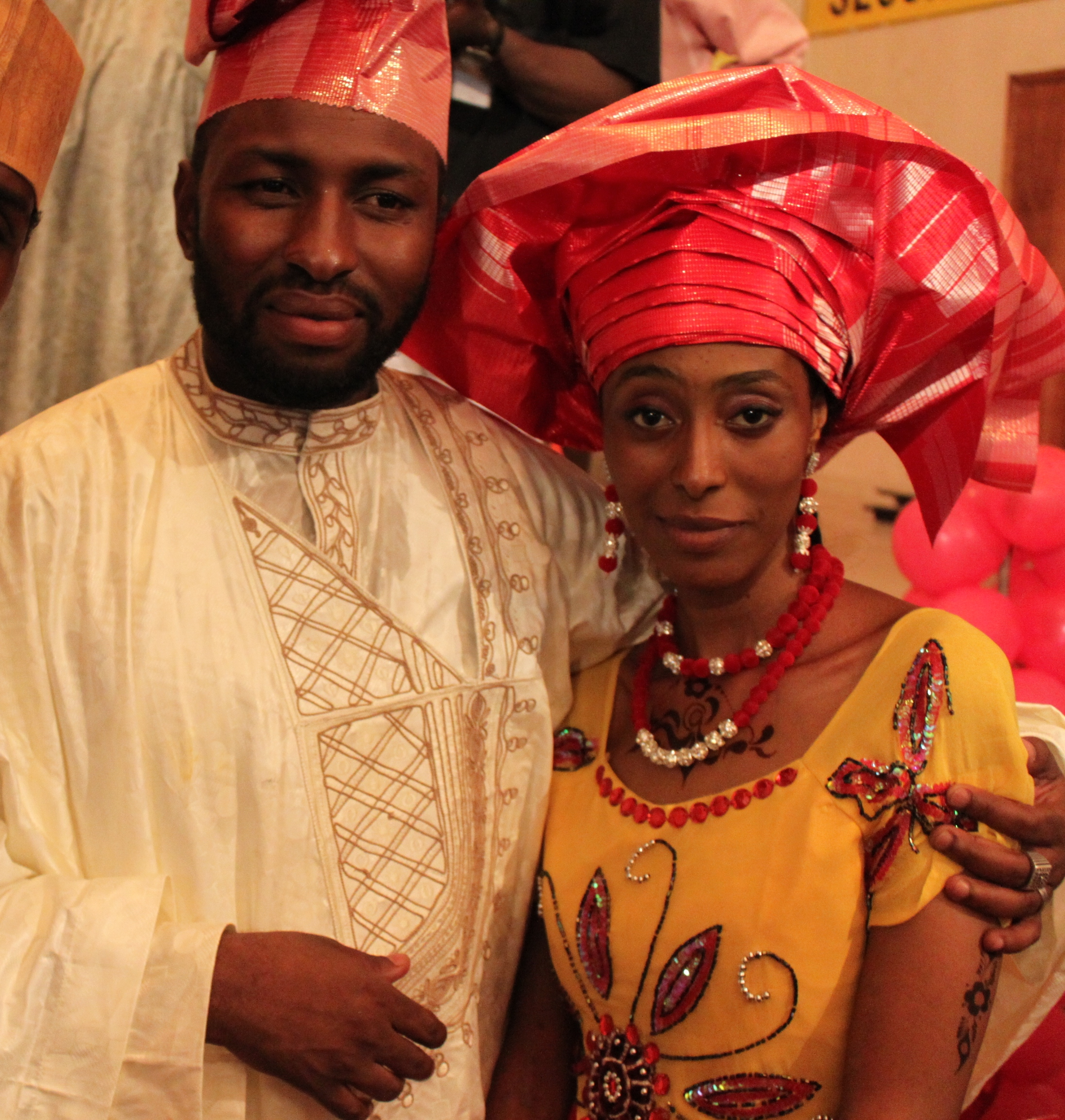 Congratulations To Abba El Mustapha And Fatima M Shuwa On Their