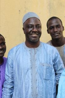 Professor Ibrahim Malumfashi, December 2012, Kaduna. (c) Carmen McCain