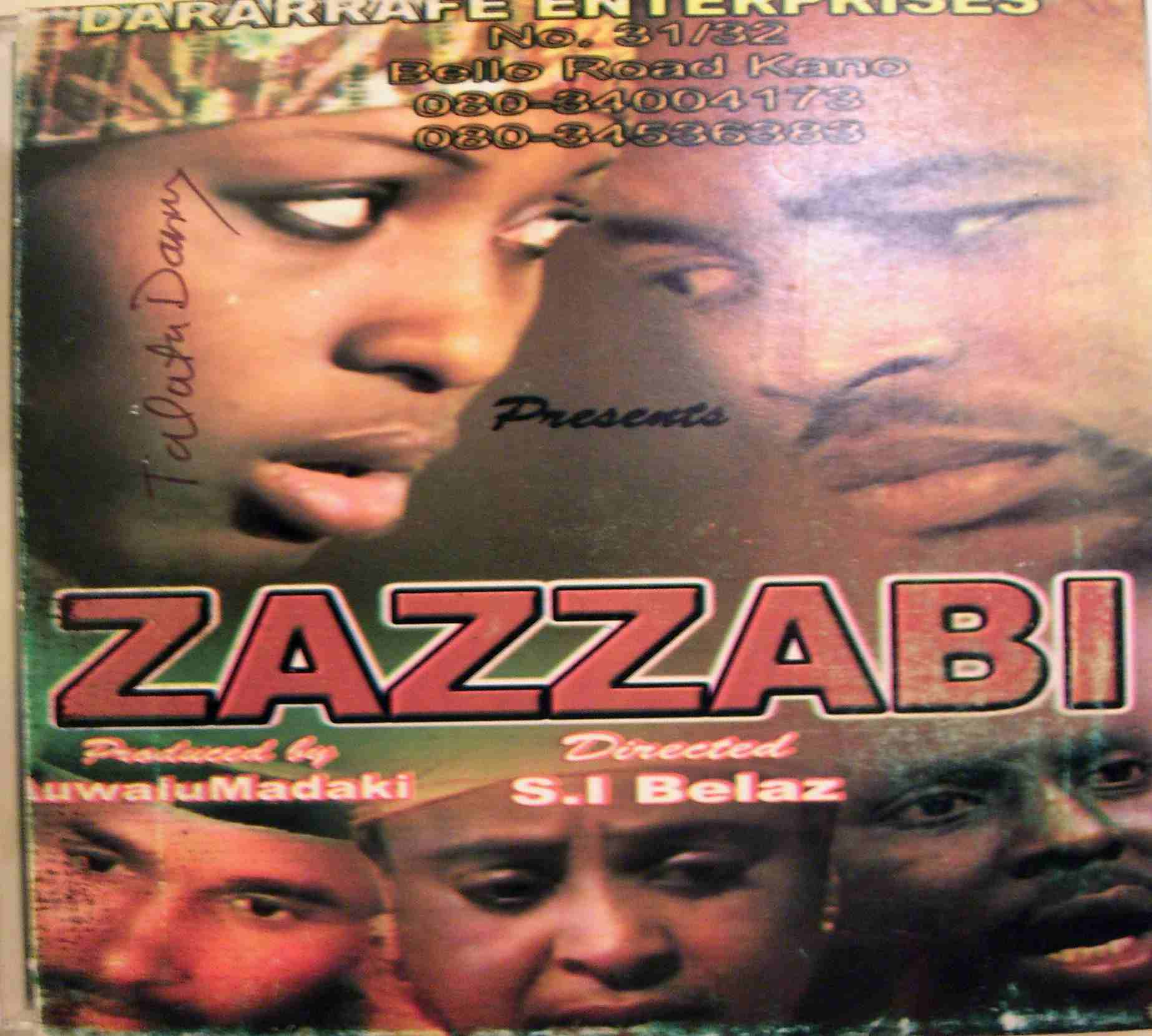 Translating (and Transcribing) the Hausa film song Zazzabi [Fever