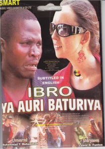 The original vcd cover for Ibro Ya Auri Baturiya.
